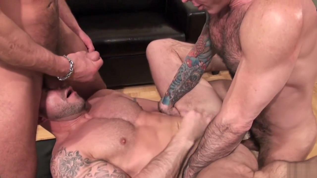 Men doing what men do best; pumping each other full of sweet loads of cum
