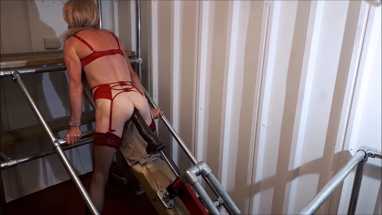RachelSexyMaid - 35 - 17 Inch Cockzilla Dildo by Fuck Machine