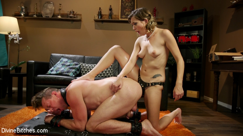 Tattooed Slut Brutalized in Bondage and has Squirting Orgasms - DivineBitches