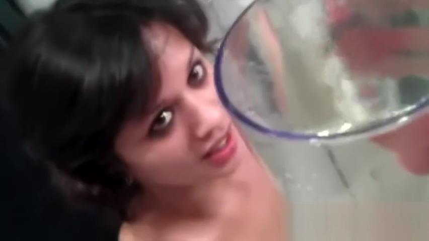 Teen desperate to pee