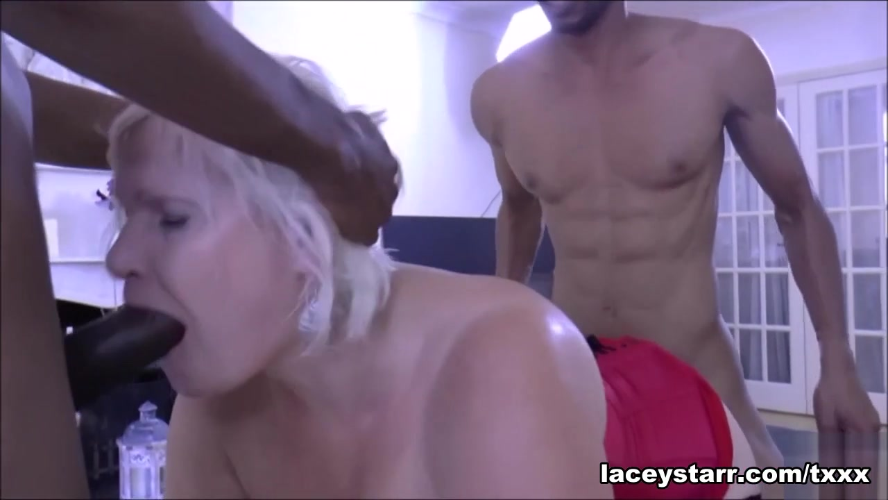 Lacey Starr in 18 Inch Black Meat Treat - LaceyStarr