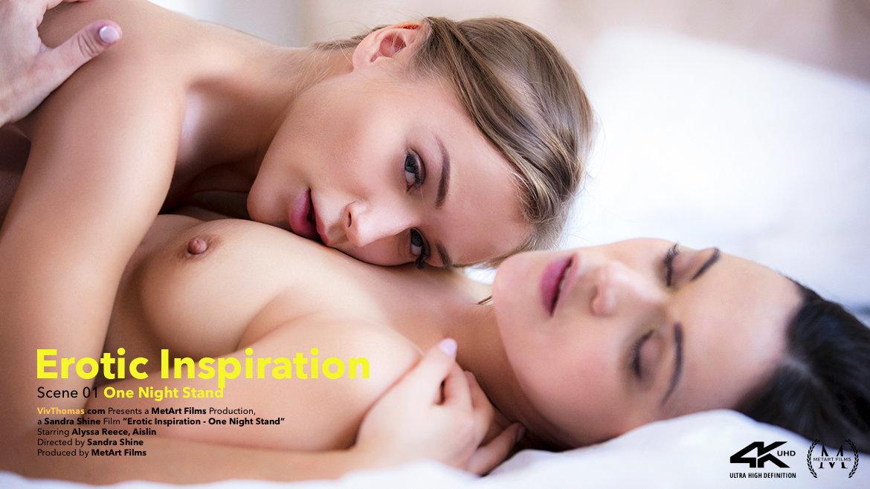 Erotic Inspiration Episode 1 - One Night Stand - Aislin & Alyssa Reece - VivThomas