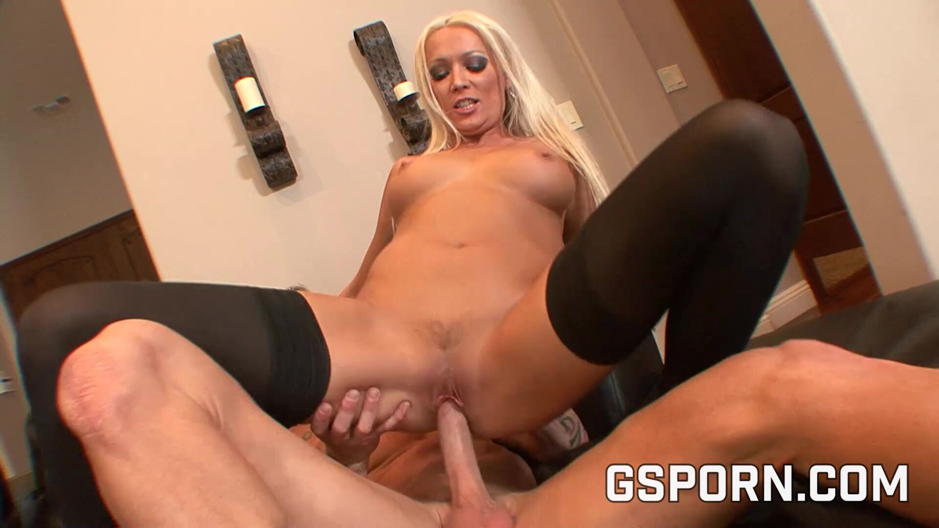 Busty milf with wet pussy is fucked by her husband on the sofa