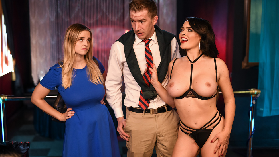 One Sneaky Stripper Free Video With Krissy Lynn - BRAZZERS