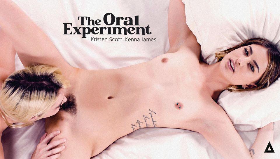 Kenna James & Kristen Scott in The Oral Experiment - Kenna James & Kristen Scott, Scene #01 - GirlsWay