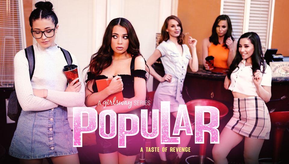 Aidra Fox & Sabina Rouge & Aria Lee in Popular 2: A Taste Of Revenge, Scene #01 - GirlsWay