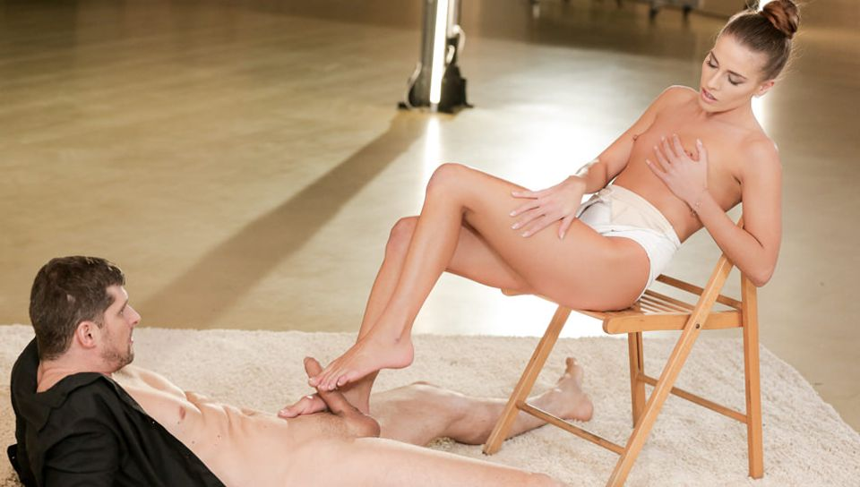 Eveline Dellai & Kristof Cale in The Ballerina's Feet, Scene #01 - 21Naturals