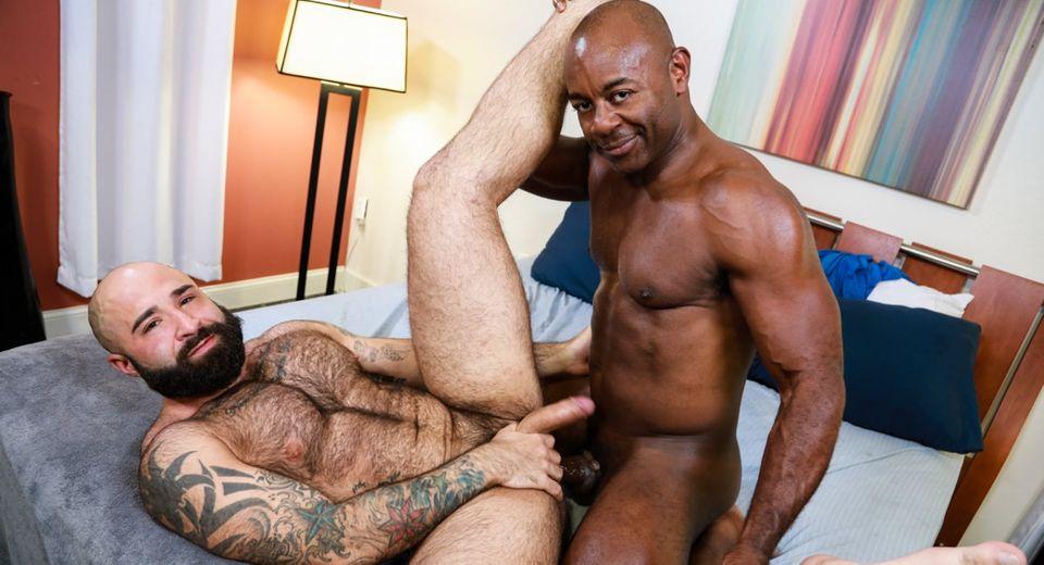 Atlas Grant & Aaron Trainer in Dick 'n' Fur - PrideStudios