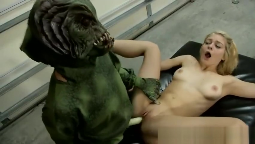 Alli Rae getting fucked by a monster
