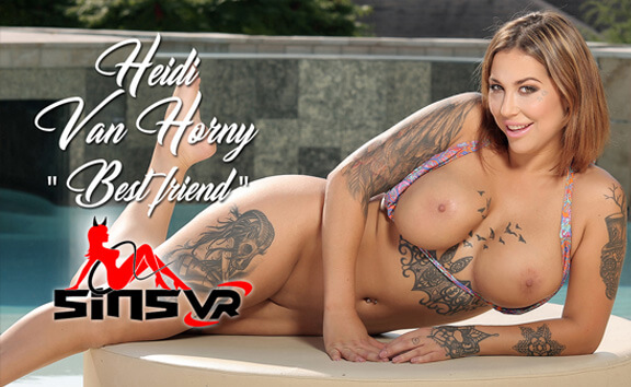 Heidi Van Horny in Heidi Van Horny - Best Friend - SinsVR
