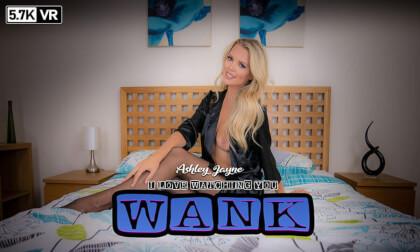 Ashley Jayne in I Love Watching You Wank - WankitnowVR