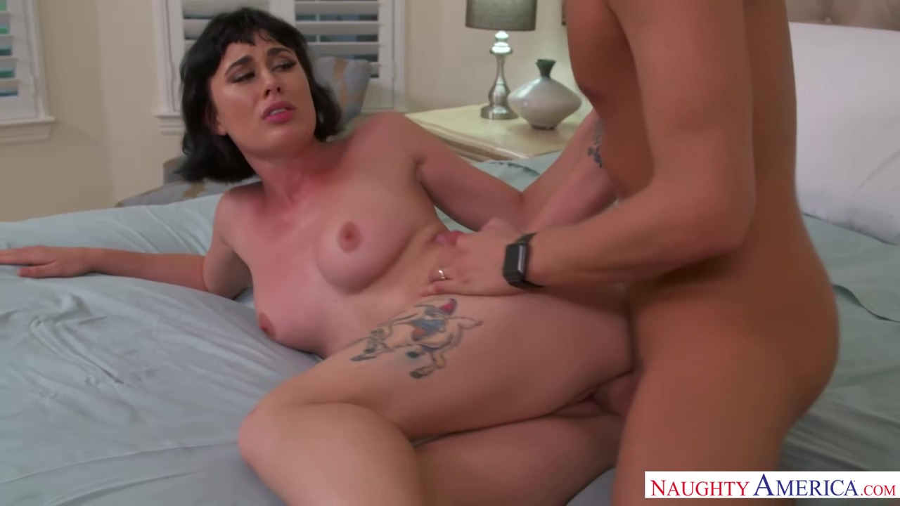 Seductive brunette, Olive Glass is having steamy sex with her husbands best friend, just for fun