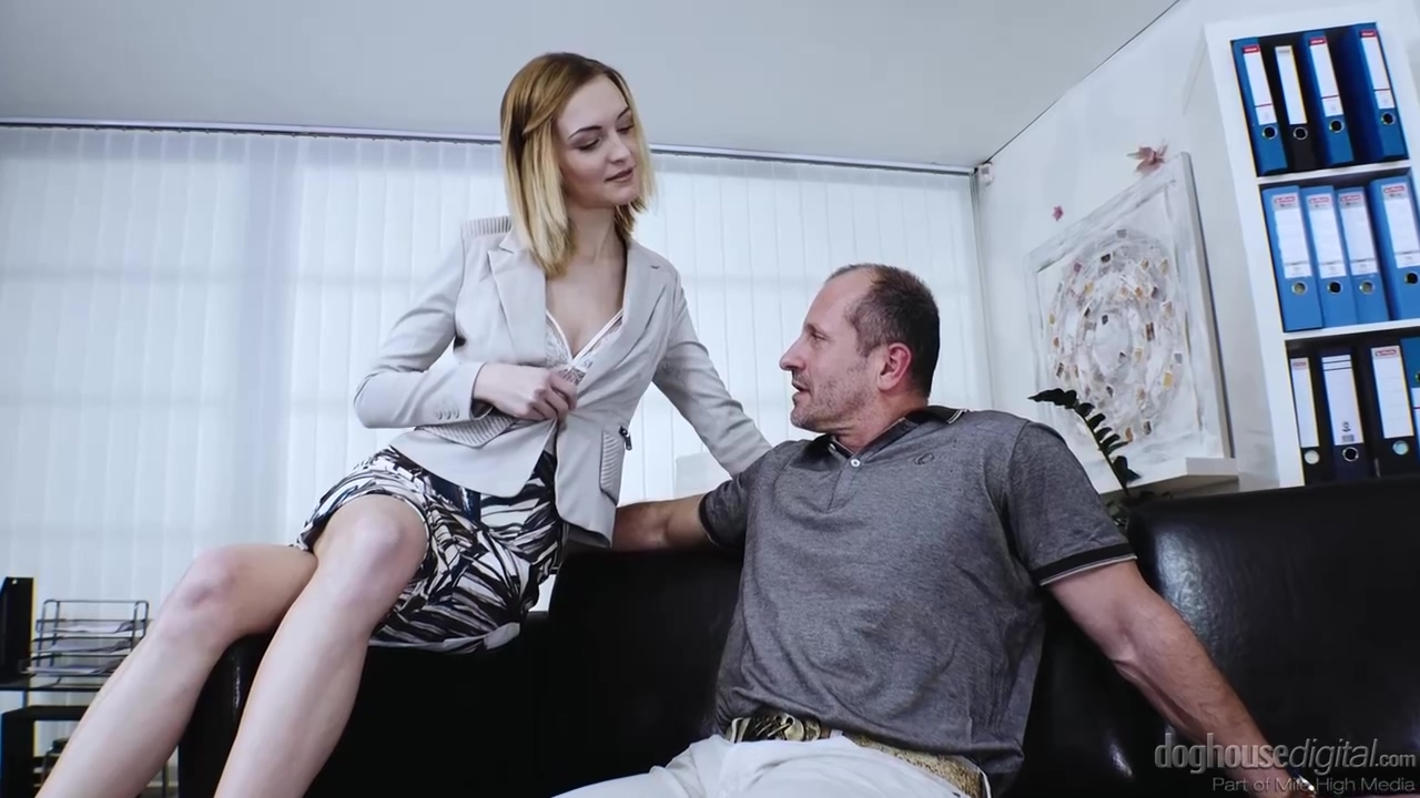 Belle Claire is getting fucked hard from the back, and enjoying every moment of it