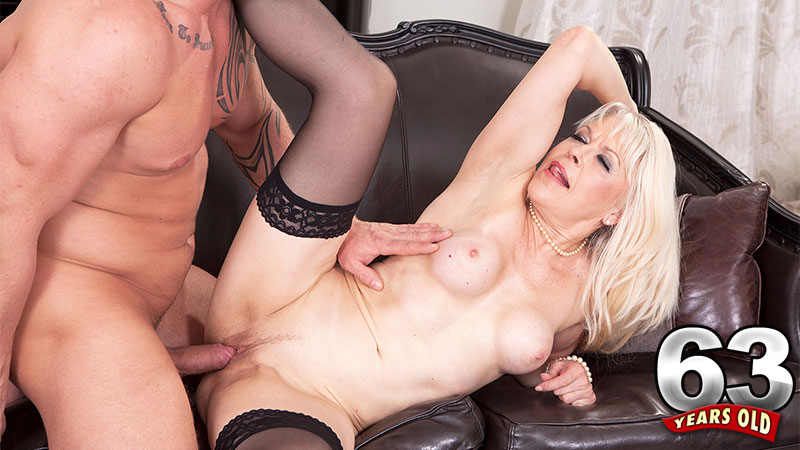 Lady S. Fucks The Sadness Out Of Max - Lady S And Max Born - 60PlusMilfs