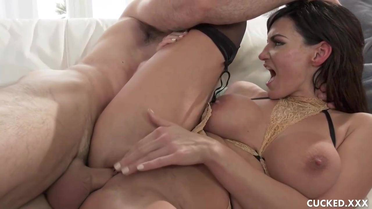 Horny guy is fucking his wife as well as some of her friends, like Becky Bandini