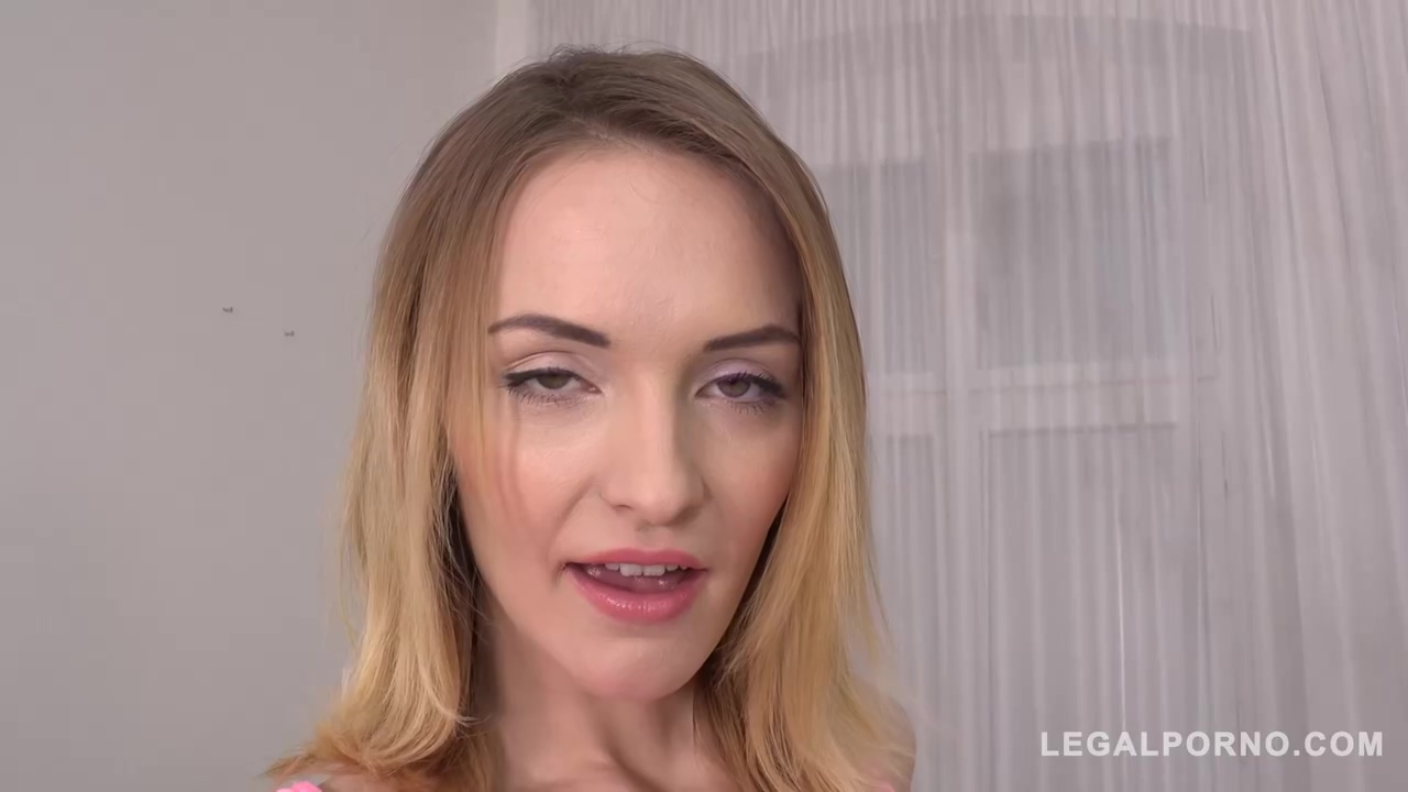 Slim babe, Belle Claire is getting filled up with rock hard dicks at the same time