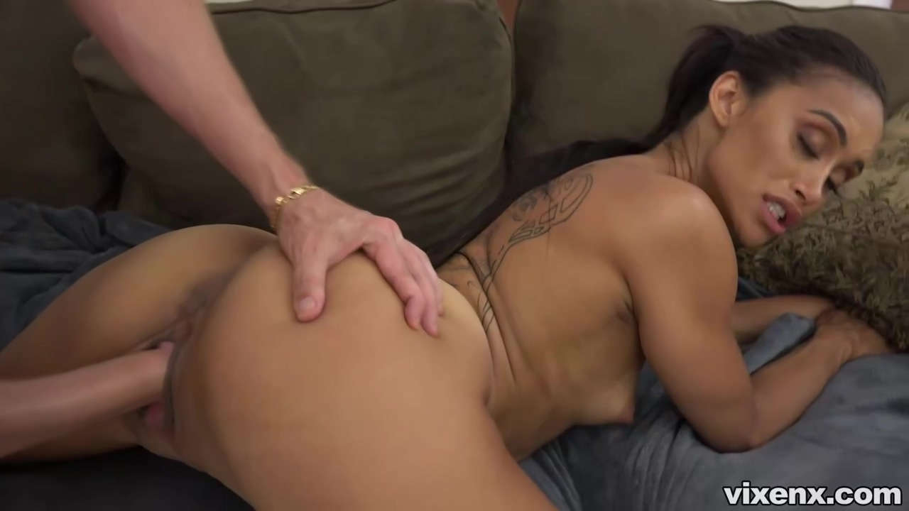 Dark haired woman, Gia Vendetti is sucking cocks for cash, because she does not want to work