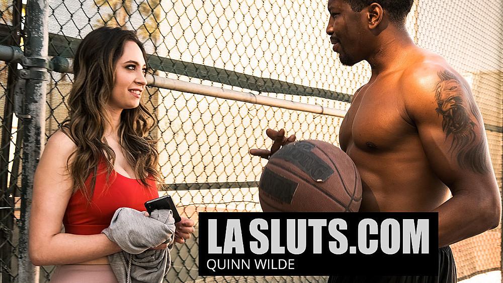 La Slut Quinn Wilde Gets Her Holes Filled By Two Black Dudes She Just Met - NaughtyAmerica