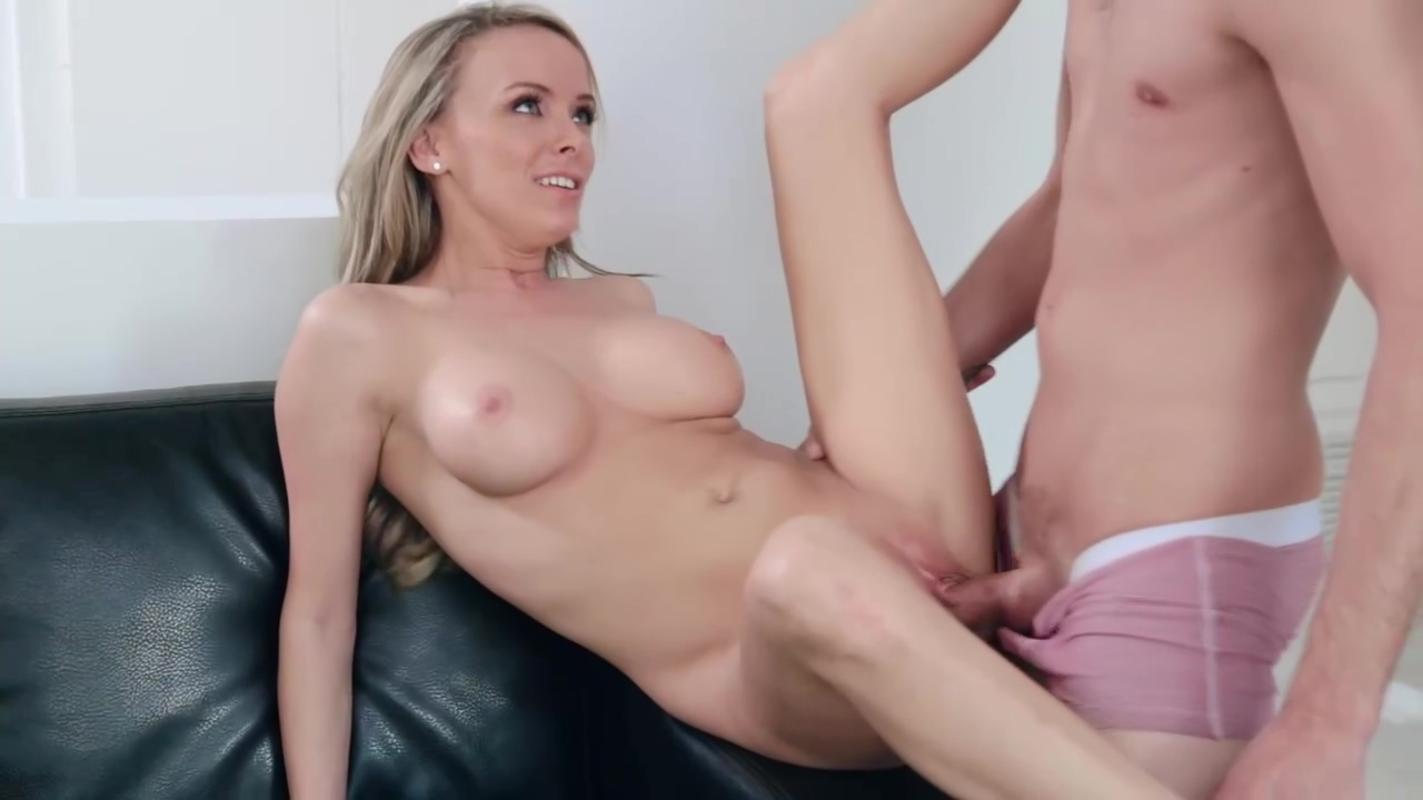 Classy blonde babe, Pristine Edge looks amazing when she gets naked and starts sucking cock