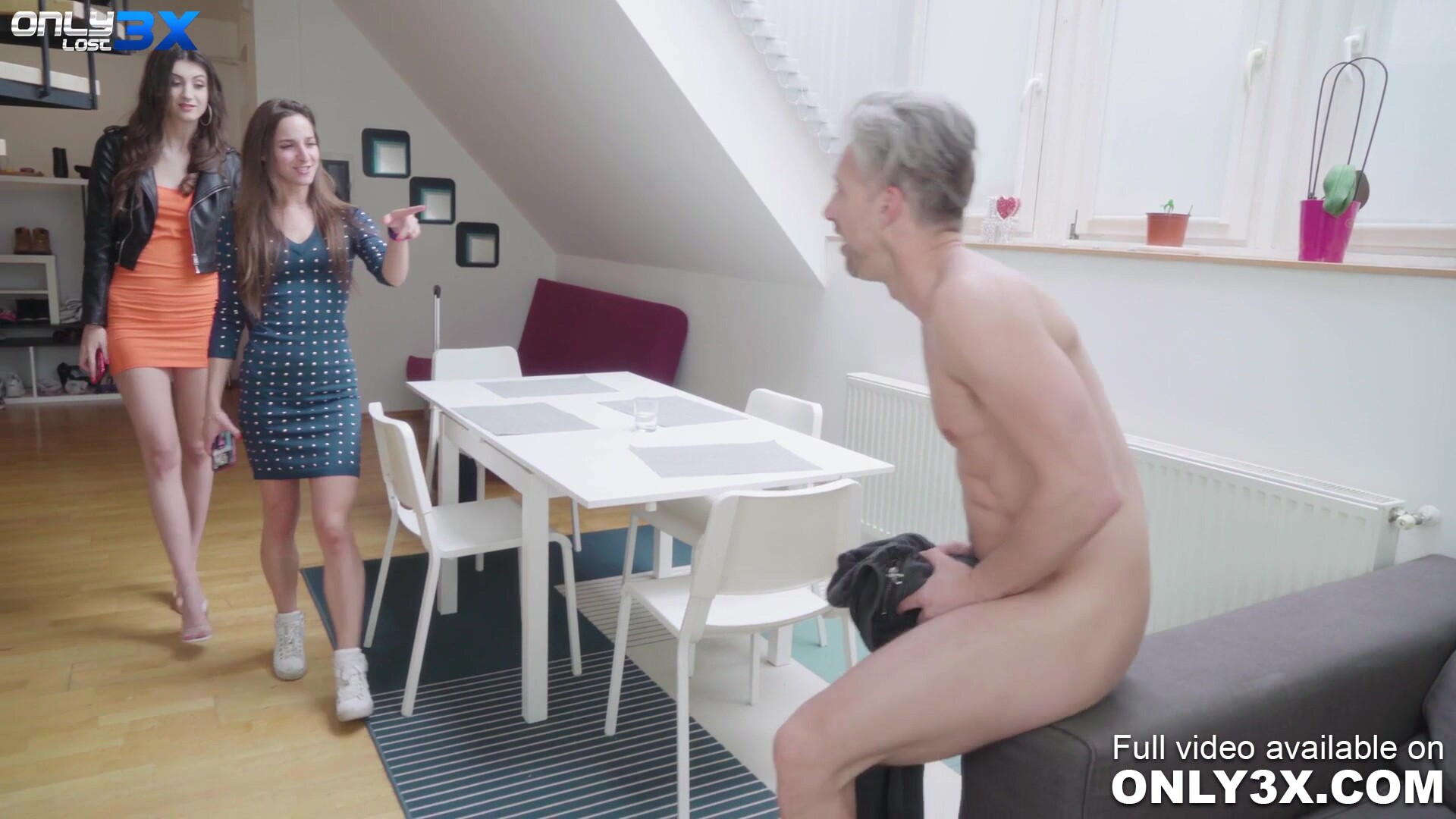 Slender babe Lina Luxa DP threesome with Mike Angelo and Lutro - by Only3x