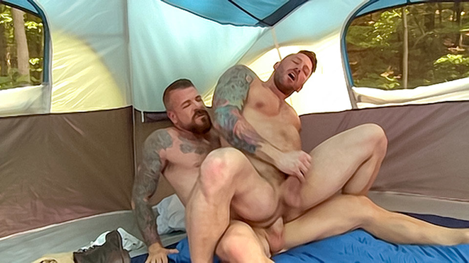 Fucked By A 10 Inch Cock - Rocco Steele & Hugh Hunter