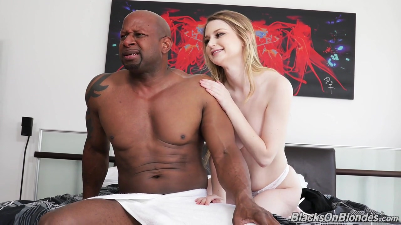 Nadya Nabakova is comforting her black friend after he got dumped with a blowjob and casual fuck