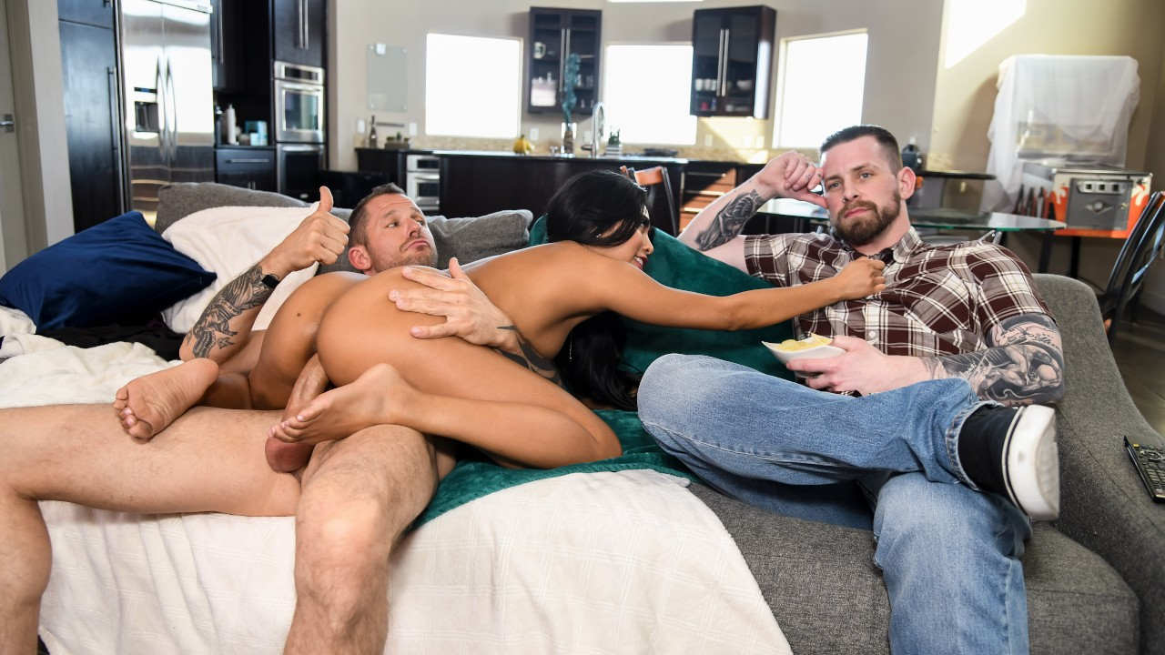 The Silent Treatment Free Video With Ember Snow & Scott Nails - Brazzers