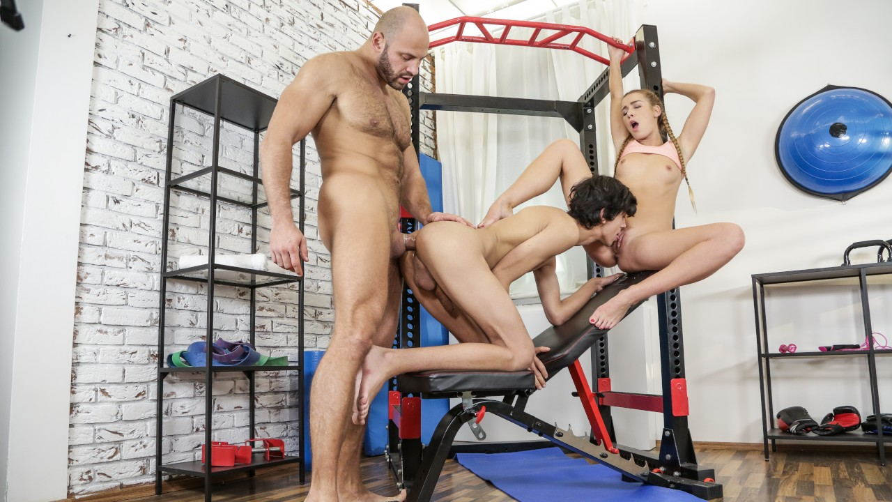 Alexis Crystal & Thomas Friedl & Adam Veller in Clever Alexis - WhyNotBi