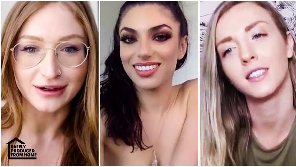 Karla Kush & Darcie Dolce & Skylar Snow in All Bets (And Clothes) Are Off!