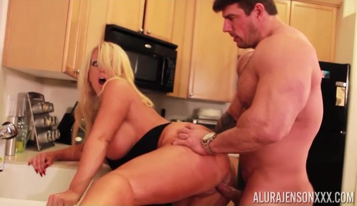 Alura Jenson Gets Bent Over By Zeb Atlas - AluraJensonXXX