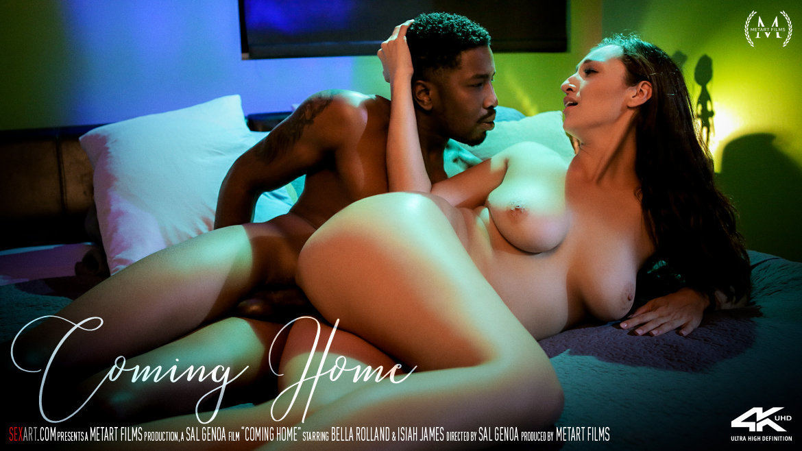 Coming Home - Bella Rolland & Isiah James - SexArt