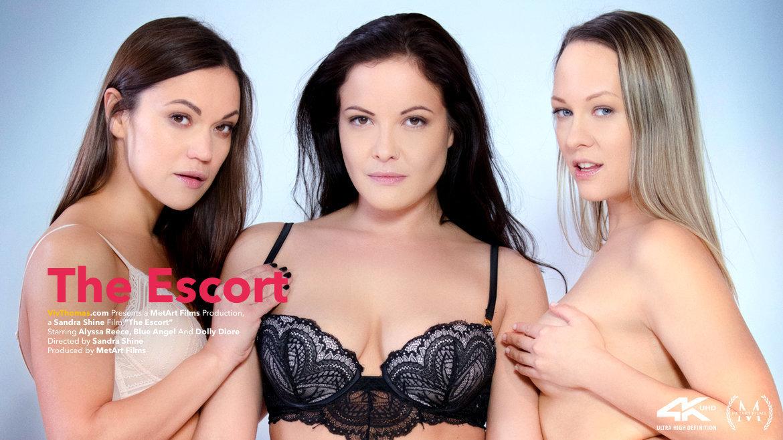 The Escort - Alyssa Reece & Blue Angel & Dolly Diore - VivThomas