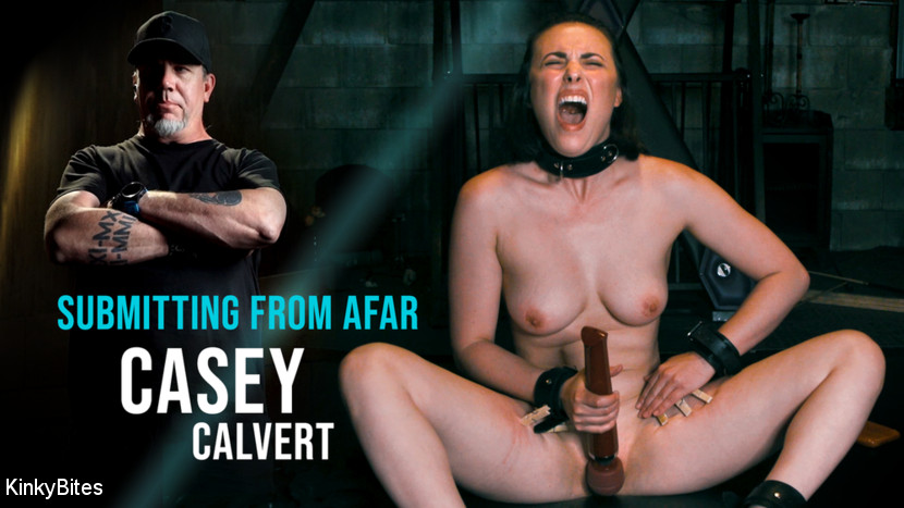 Casey Calvert & The Pope in Casey Calvert: Submitting From Afar - KINK