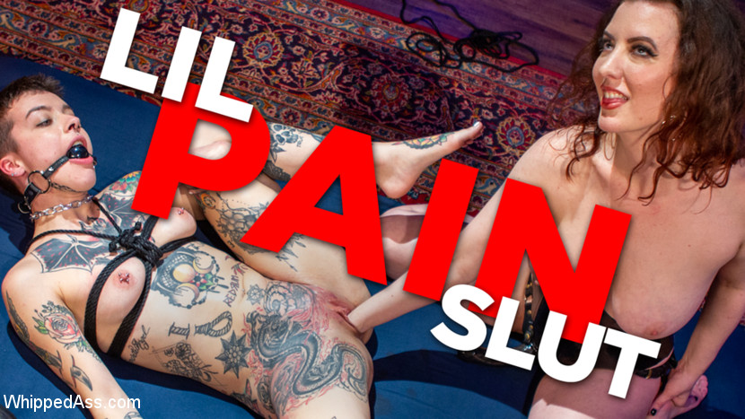Cherry Torn & Dana Spit in Lil' Pain Slut: Cherry Torn Tests Dana Spit's Need For Erotic Torment - KINK