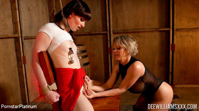 Dee Williams & Natalie Mars in Dee Williams In Bound Up Natalie (Part 1 Of 3) - KINK