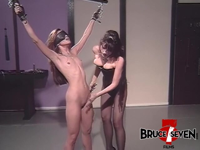 BRUCE SEVEN - Alex Dane, Johnni Black and Mistress Alexis Payne in the Dungeon