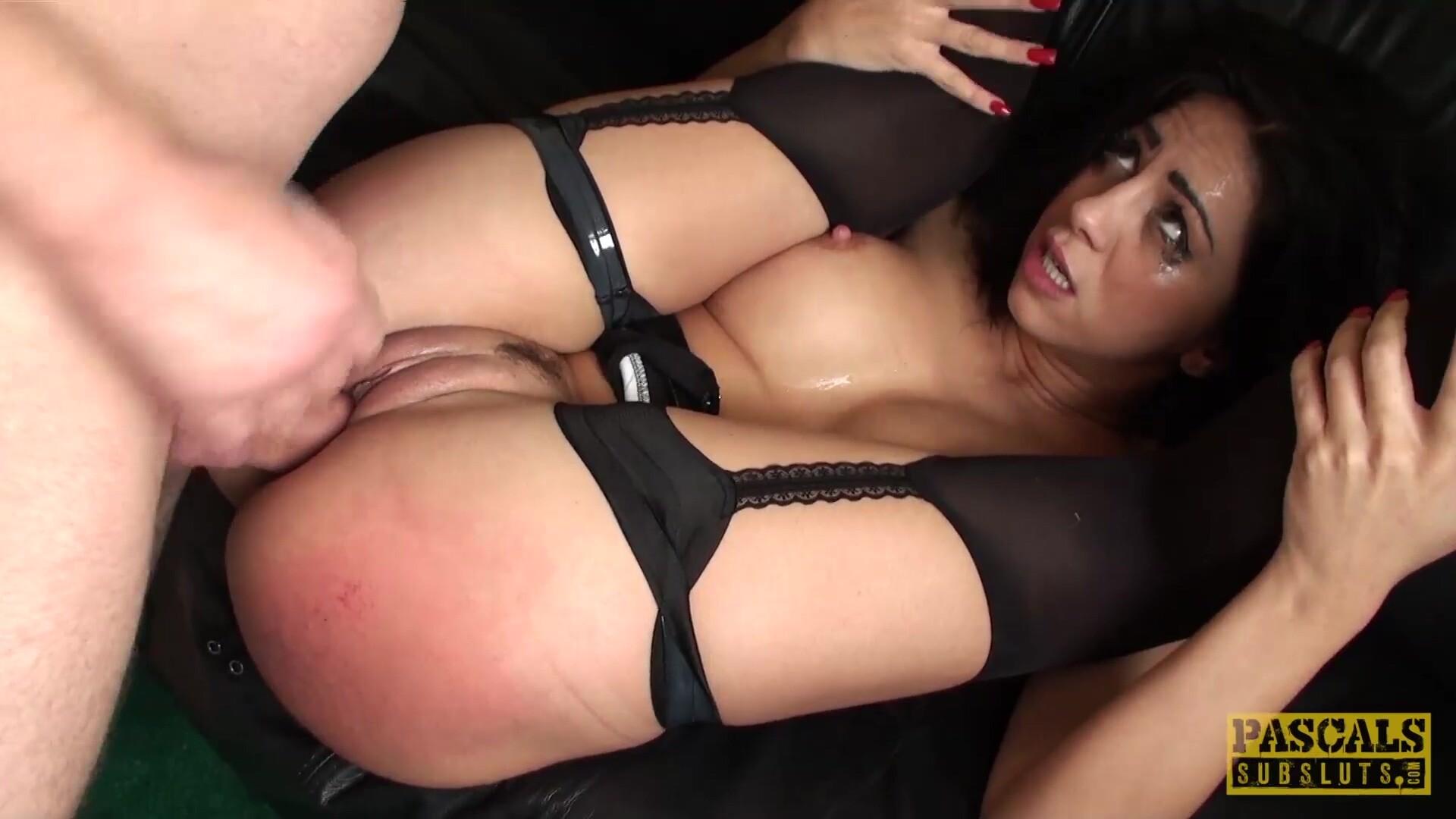 PASCALSSUBSLUTS - Submissive Latina Julia de Lucia Dominated