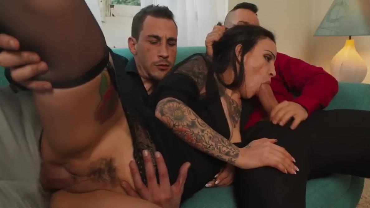 Ninos Paoli And Natasha Ink In Her Pleasure Holes Impaled