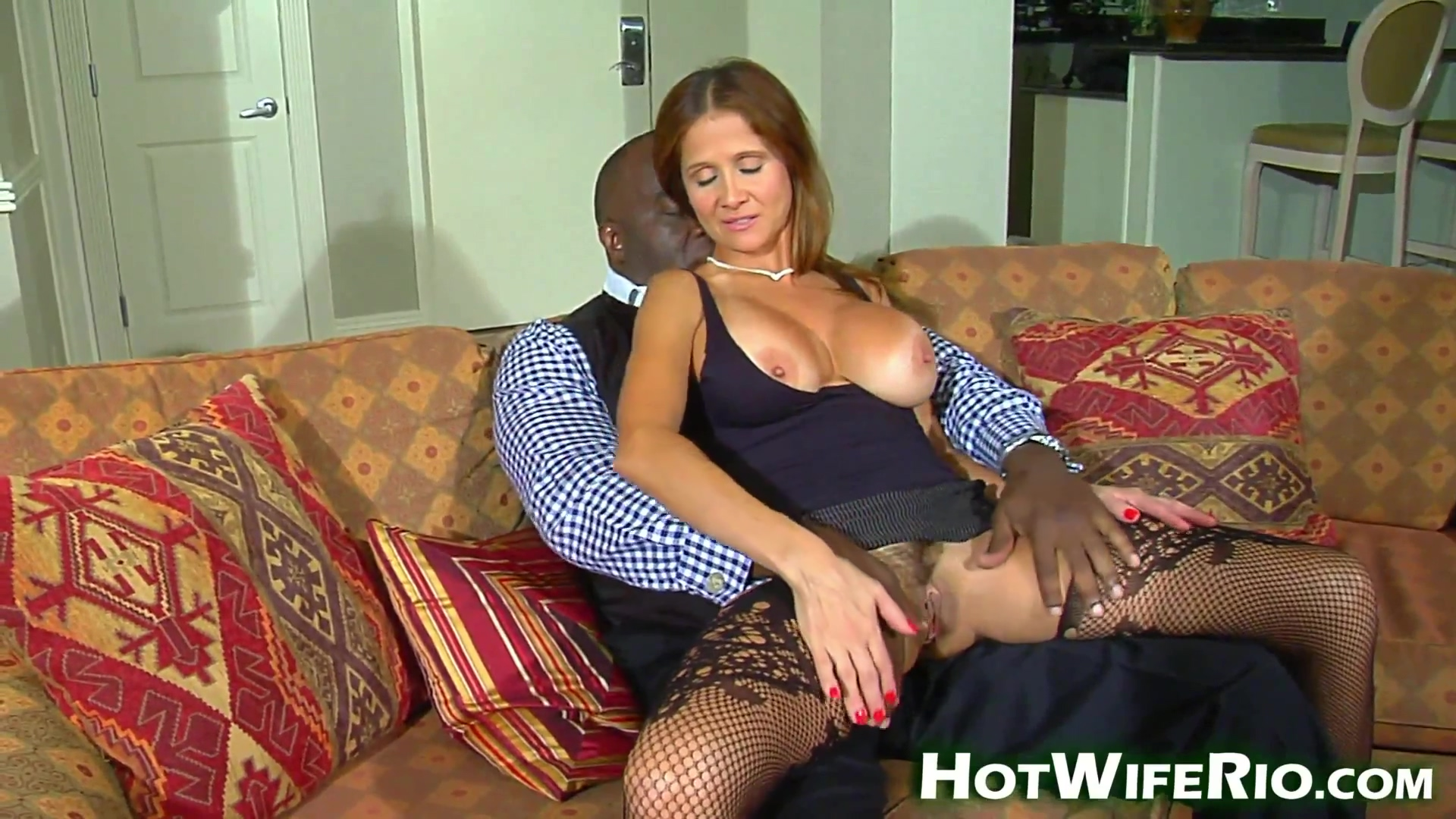 Hot Wife Rio In This Sexy Milf Is Getting Fucked By A Huge Black One