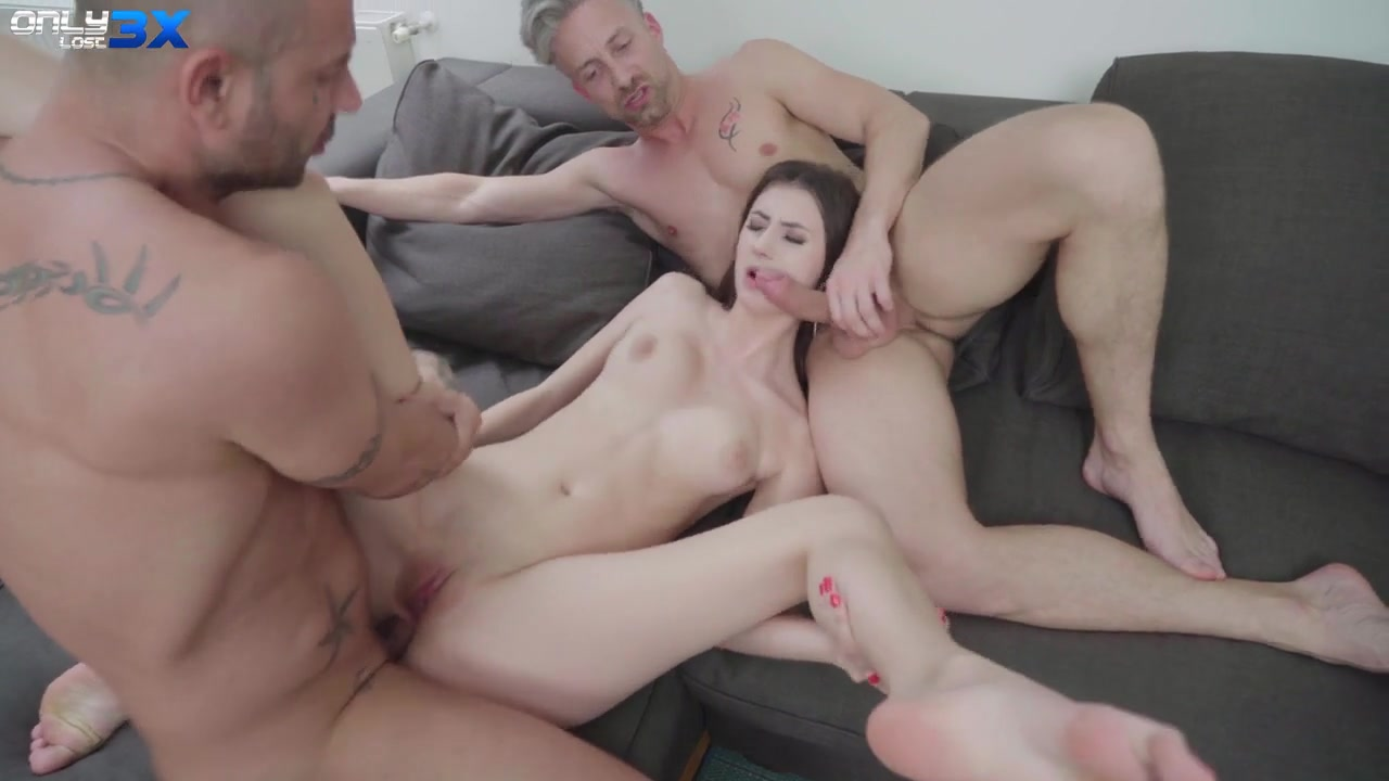 Slender Babe Lina Luxa Dp Threesome With Mike Angelo And Lutro - Only3Xlost