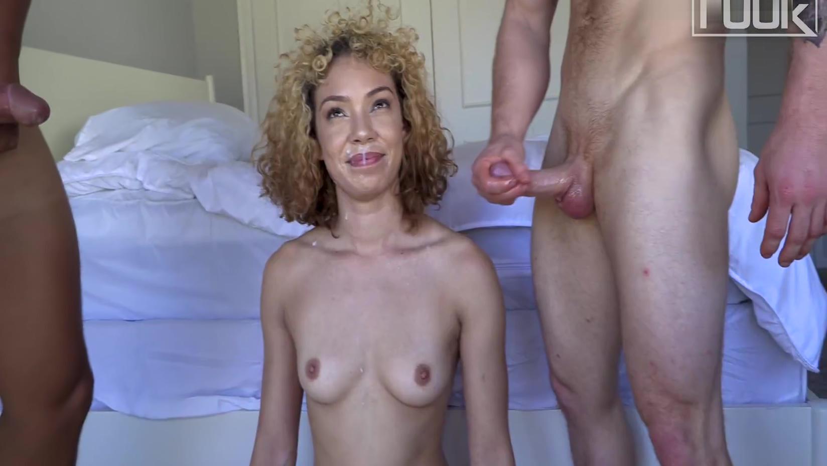 Brazilian Rave Girl Takes On 2 Cocks! Damn Babe..double Penetration Anal