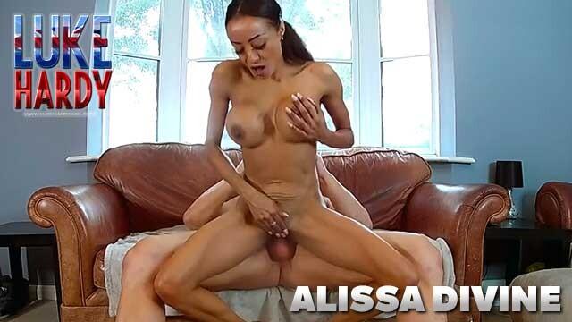 LUKE HARDY - Alissa Divine punishes Luke
