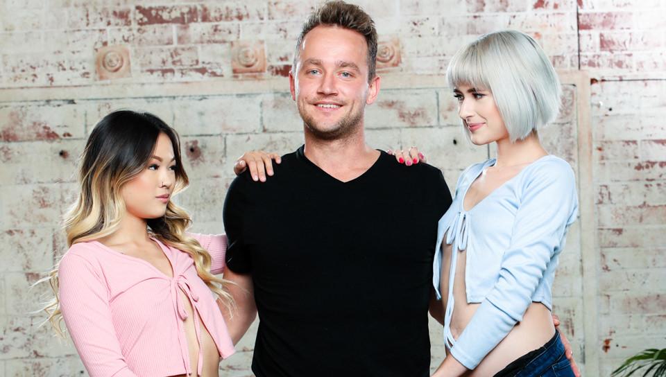 Fucking The Neighbors #04 - Jessie Saint, Lulu Chu & Van Wylde