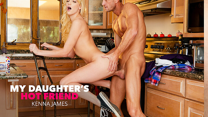 Older guys make Kenna James hot and horny - mydadshotgirlfriend