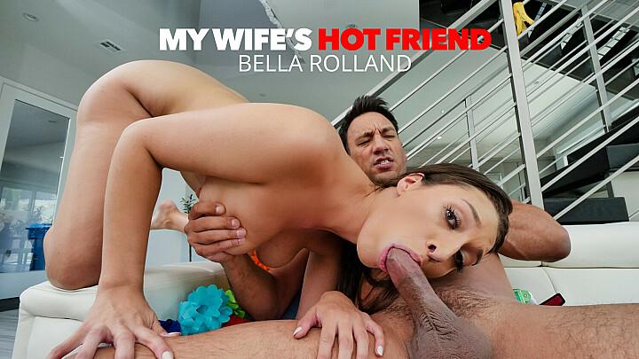Bella Rolland fucks her friend's husband - mywifeshotfriend