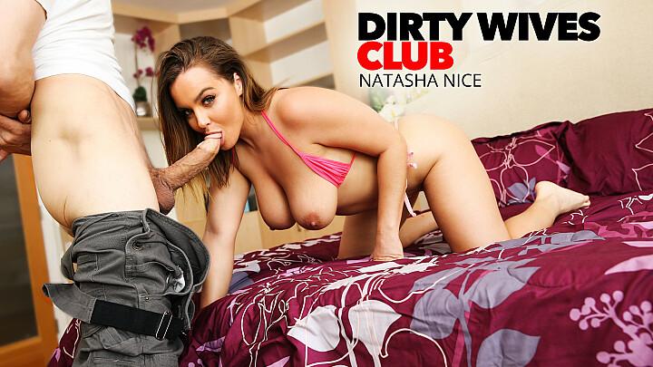 Natasha Nice fucks lawn guy while hubby's at work - naughtyamerica