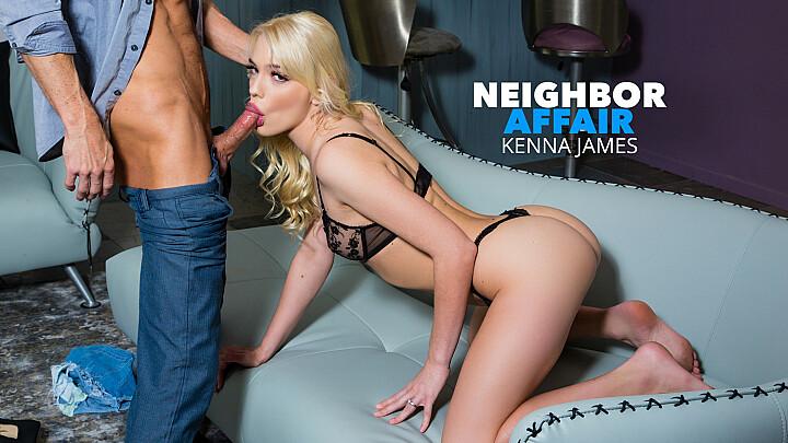 Kenna James hooks up with her single neighbor for extra cash - naughtyamerica