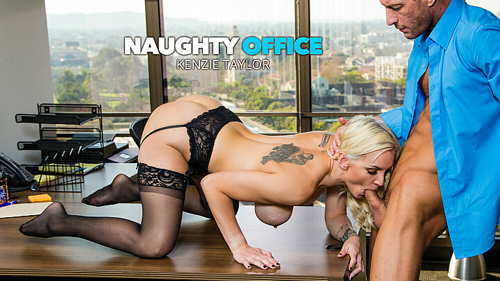 Kenzie Taylor fucks her boss for that promotion - naughtyoffice