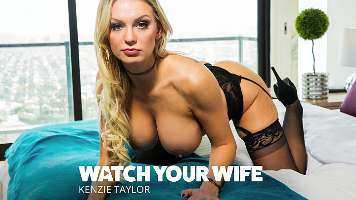 Kenzie Taylor gets fucked as husband watches - watchyourwife