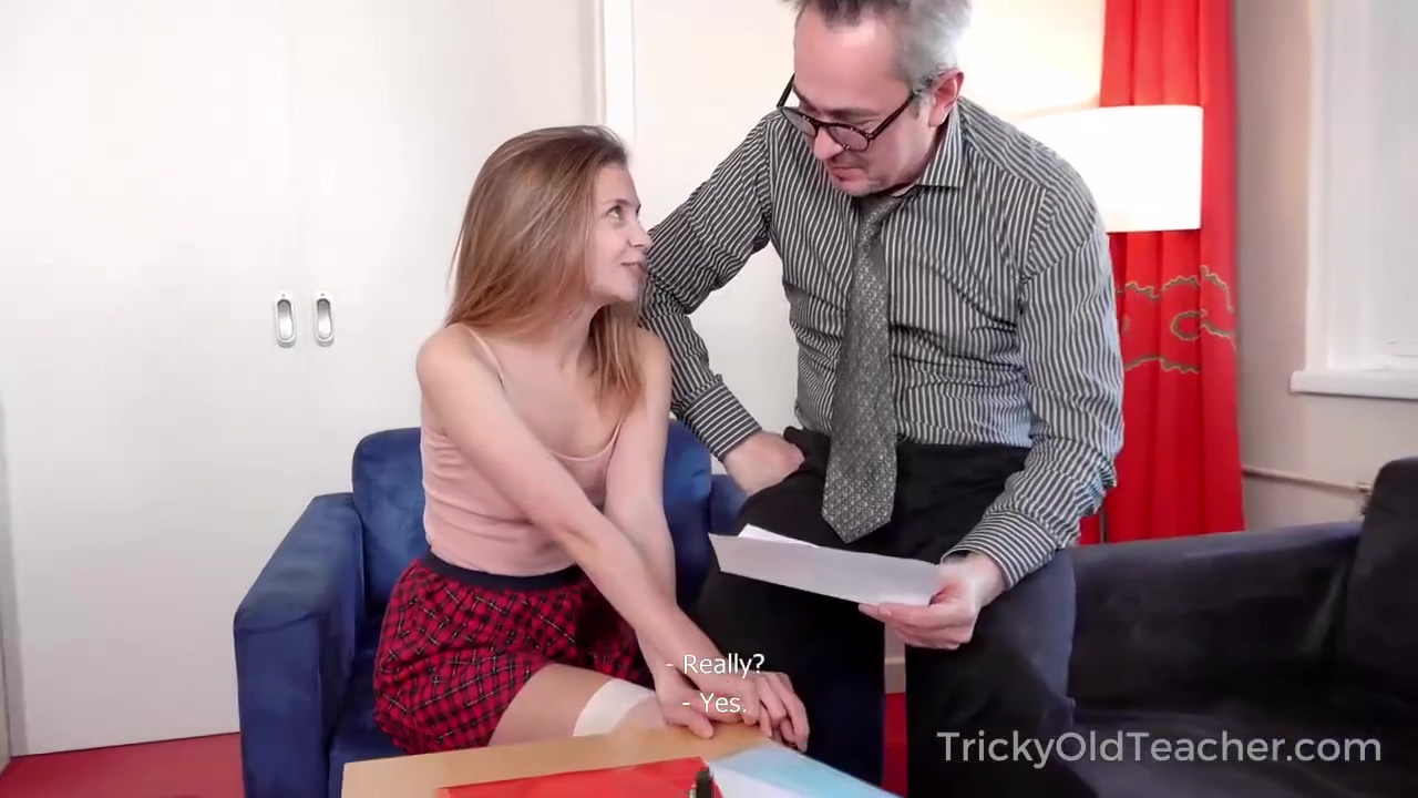Bella Gray In And Older Man